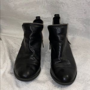 Lucky Brand Leather Black Bootie